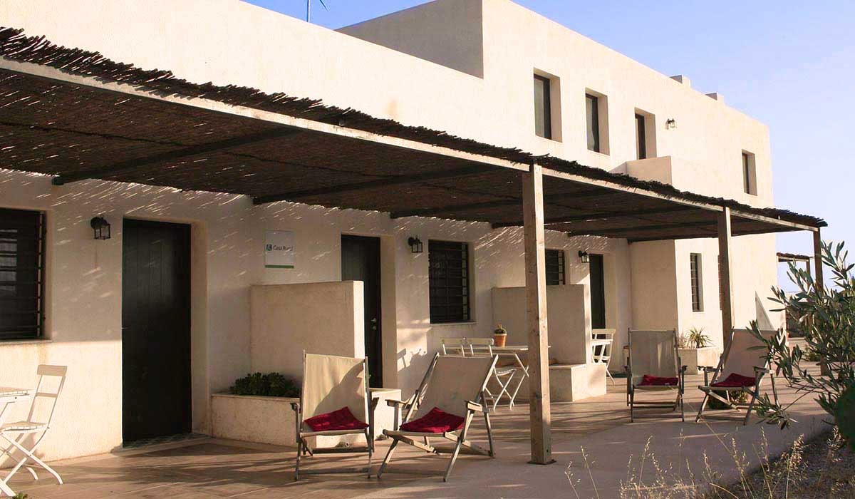 Terrazas apartamentos Cortijo la Tenada