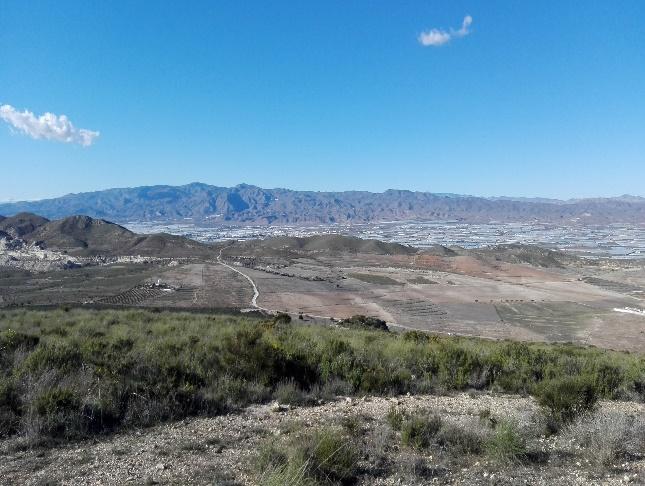 Vista Níjar y Sierra Alhamilla