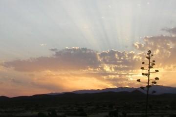 Amanecer en el Valle del Hornillo - Cabo de Gata-Níjar